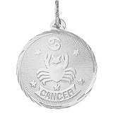 Sterling Silver Cancer Constellation Charm by Rembrandt Charms