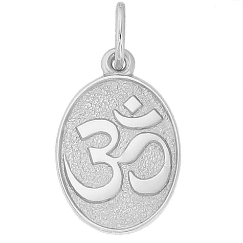Sterling Silver Yoga Symbol Charm by Rembrandt Charms