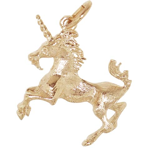 14k Gold Unicorn Charm by Rembrandt Charms