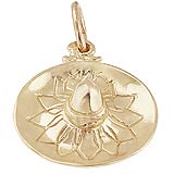 10K Gold Sombrero Charm by Rembrandt Charms