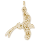 14K Gold Jamaica Longtail Charm by Rembrandt Charms