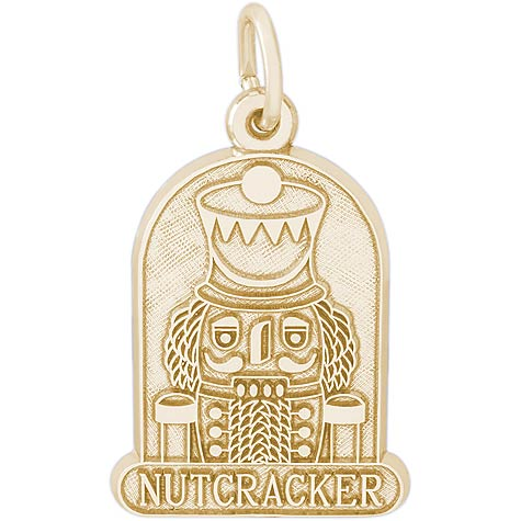 Gold Plated Nutcracker Charm by Rembrandt Charms