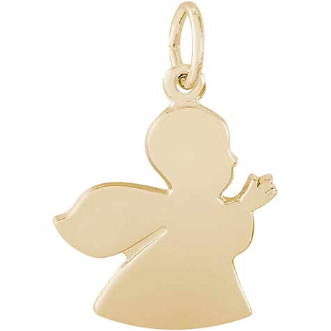Gold Plated Angel Charm by Rembrandt Charms