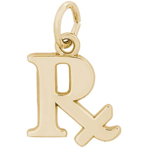 14K Gold Pharmacy Charm by Rembrandt Charms
