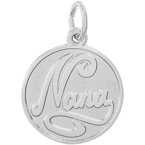 Sterling Silver Nana Charm by Rembrandt Charms