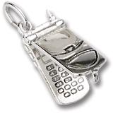 Flip Top Phone Charm