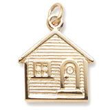 14K Gold House Charm by Rembrandt Charms