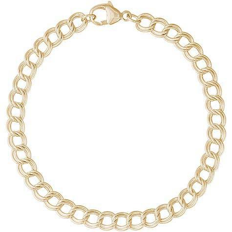 14K Gold Charm Bracelet by Rembrandt Charms