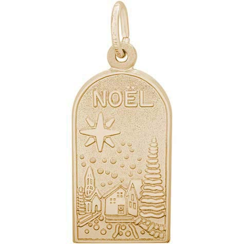 Gold Plated Noel Charm by Rembrandt Charms