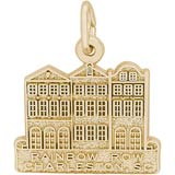 14K Gold Rainbow Row Charm by Rembrandt Charms