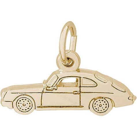 14K Gold Sports Car Charm by Rembrandt Charms