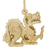 10K Gold Dragon Charm by Rembrandt Charms