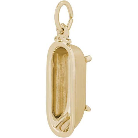 14K Gold Bathtub Charm by Rembrandt Charms