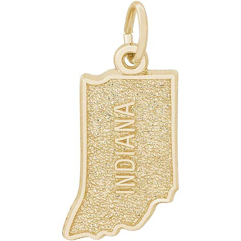 Gold Plated Indiana Charm by Rembrandt Charms