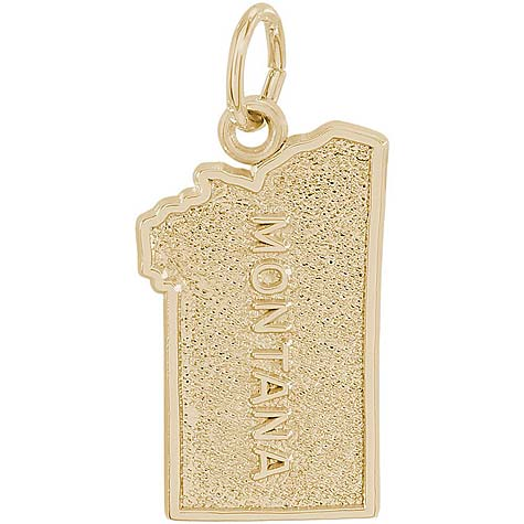 Gold Plated Montana Charm by Rembrandt Charms