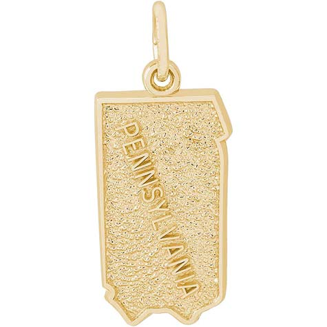 14K Gold Pennsylvania Charm by Rembrandt Charms
