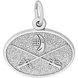 Sterling Silver Fencing Charm by Rembrandt Charms