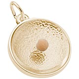 Gold Plated Mustard Seed Charm by Rembrandt Charms