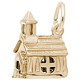 Gold Plate Opening Church Charm by Rembrandt Charms