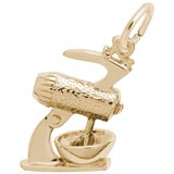 Gold Plate Mixer Charm by Rembrandt Charms