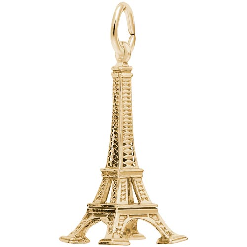 14k Gold Eiffel Tower Charm by Rembrandt Charms