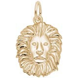 Gold Plated Lion Charm by Rembrandt Charms