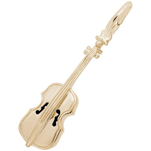 14k Gold Cello Charm by Rembrandt Charms