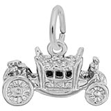 Sterling Silver Royal Carriage Charm by Rembrandt Charms