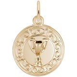 10K Gold Trophy Cup Charm by Rembrandt Charms