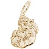 Gold Plated Santa Charm by Rembrandt Charms