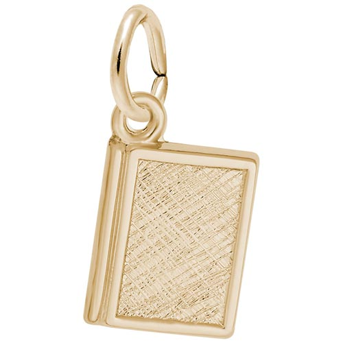 14K Gold Book Charm by Rembrandt Charms