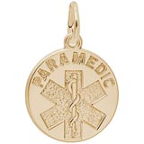 10k Gold Paramedic Charm by Rembrandt Charms