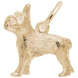 Gold Plate French Bulldog Charm by Rembrandt Charms