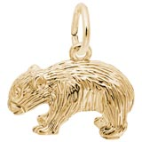 14K Gold Wombat Charm by Rembrandt Charms
