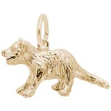 14K Gold Tasmanian Devil Charm by Rembrandt Charms
