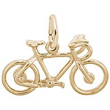 14k Gold Bicycle Charm by Rembrandt Charms