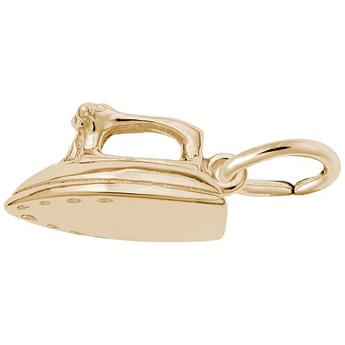14K Gold Iron Charm by Rembrandt Charms