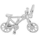 Sterling Silver Bicycle Charm by Rembrandt Charms