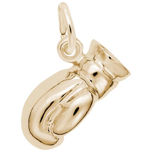 10K Gold Boxing Glove Charm by Rembrandt Charms