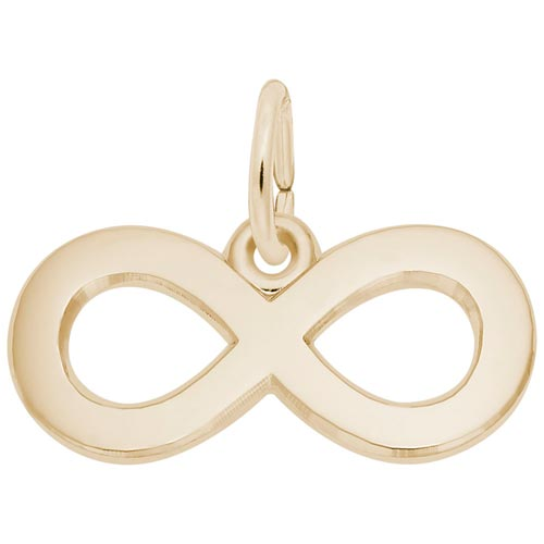 14K Gold Infinity Charm by Rembrandt Charms