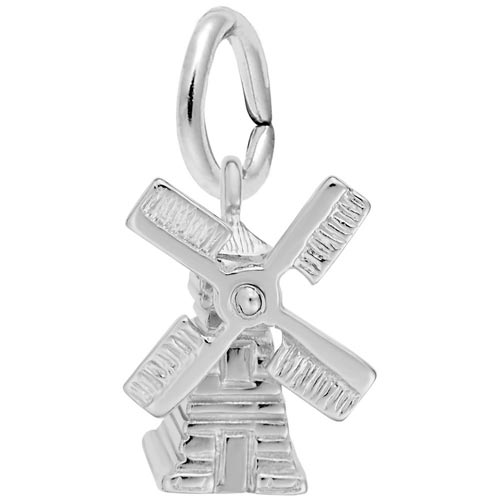 Sterling Silver Windmill Charm by Rembrandt Charms