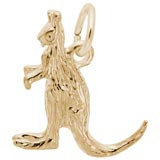 14K Gold Kangaroo Charm by Rembrandt Charms
