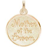 14K Gold Mother of the Groom