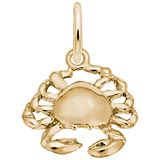 14K Gold Crab Charm by Rembrandt Charms