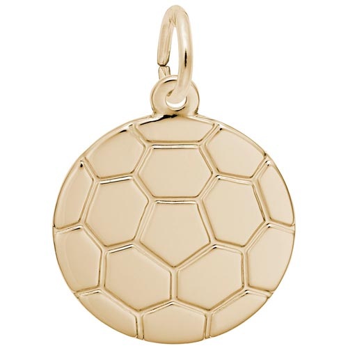 14k Gold Soccer Ball Charm by Rembrandt Charms