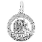 Sterling Silver Chateau Frontenac Charm by Rembrandt Charms