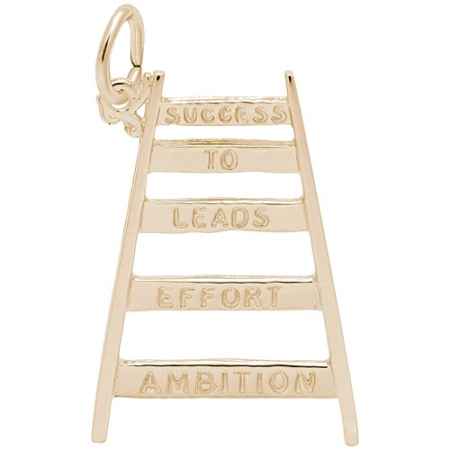 14k Gold Ladder of Success Charm by Rembrandt Charms