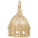 10k Gold St Peter's Basilica Charm by Rembrandt Charms