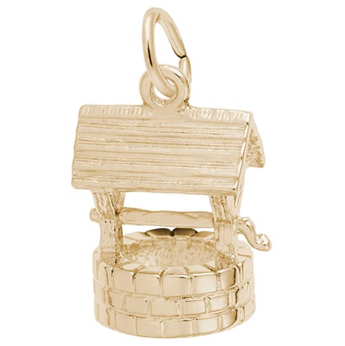 10K Gold Wishing Well Charm by Rembrandt Charms
