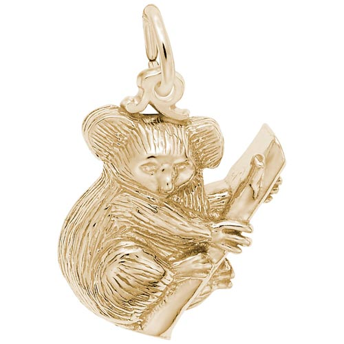 14k Gold Koala Bear Gold Charm by Rembrandt Charms
